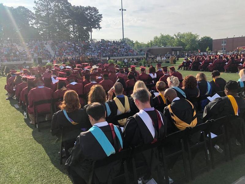 BCHS graduation ceremony