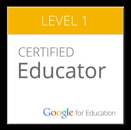 Google Ed Level 1