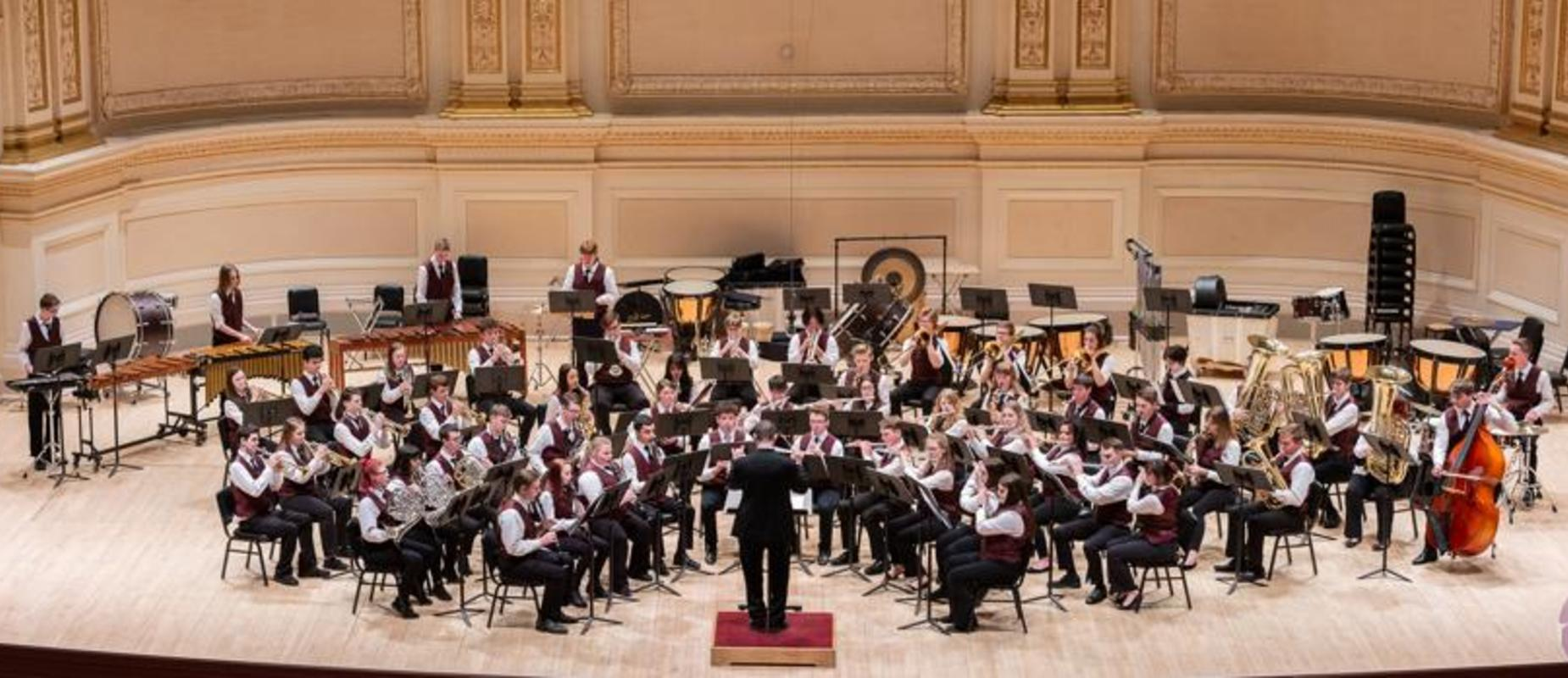 Band at Carnegie Hall