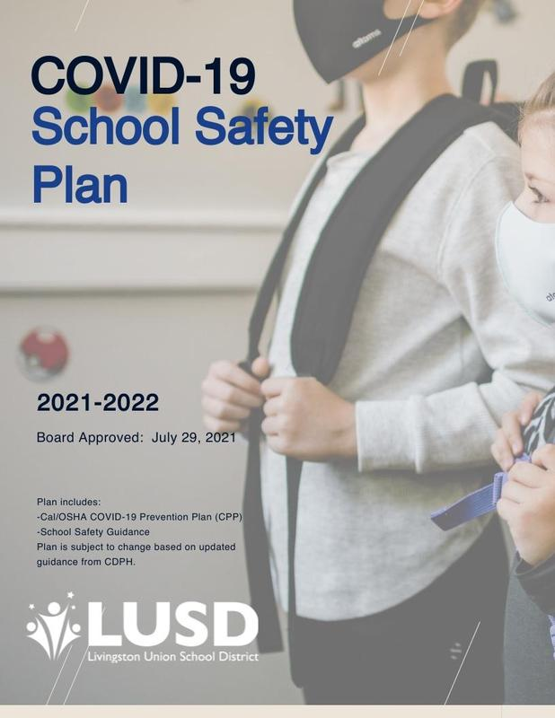 COVID 19 Safety Plan Cover Page