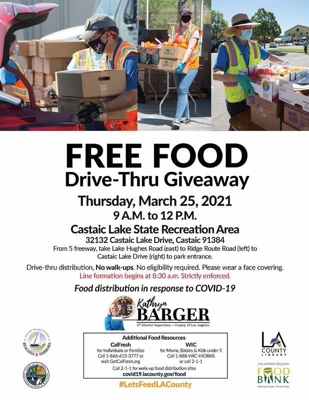 Free Drive-Thru Food Giveaway