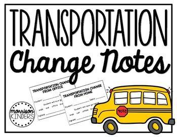 Transportation change policy
