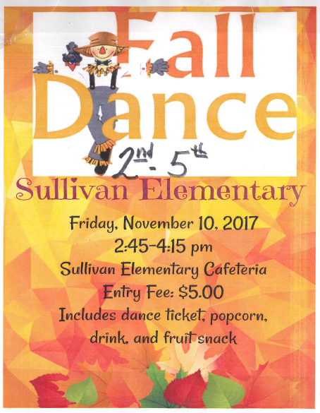 fall dance information