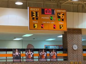 Chargers Beat Bolivar 46 to 31