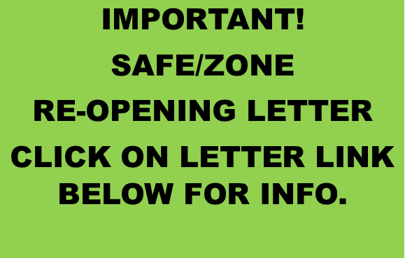 RE-OPENING LETTER