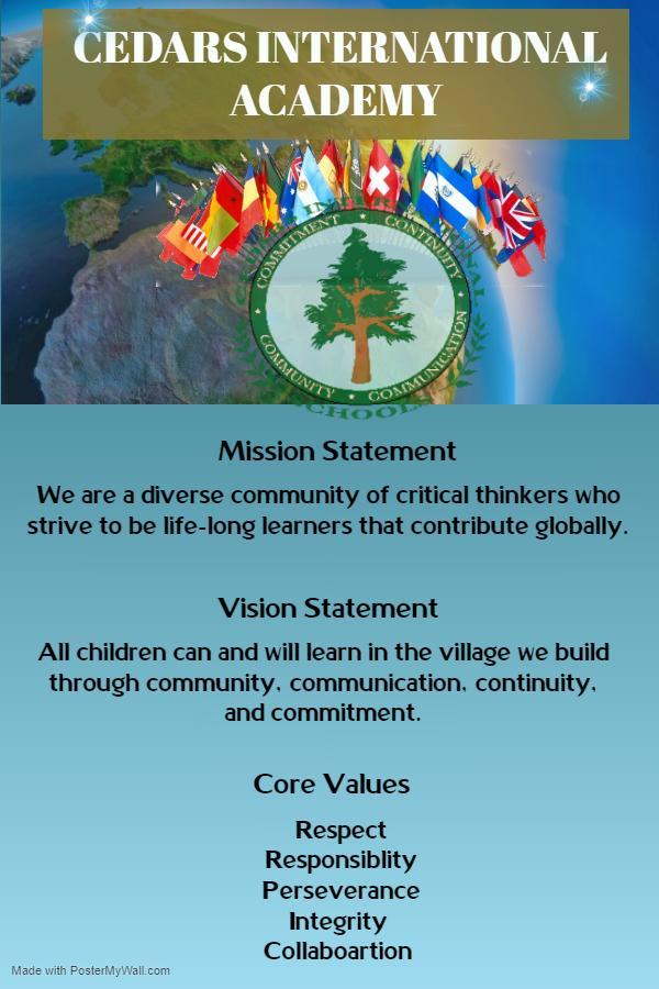Elementary Mission and Vision Statement