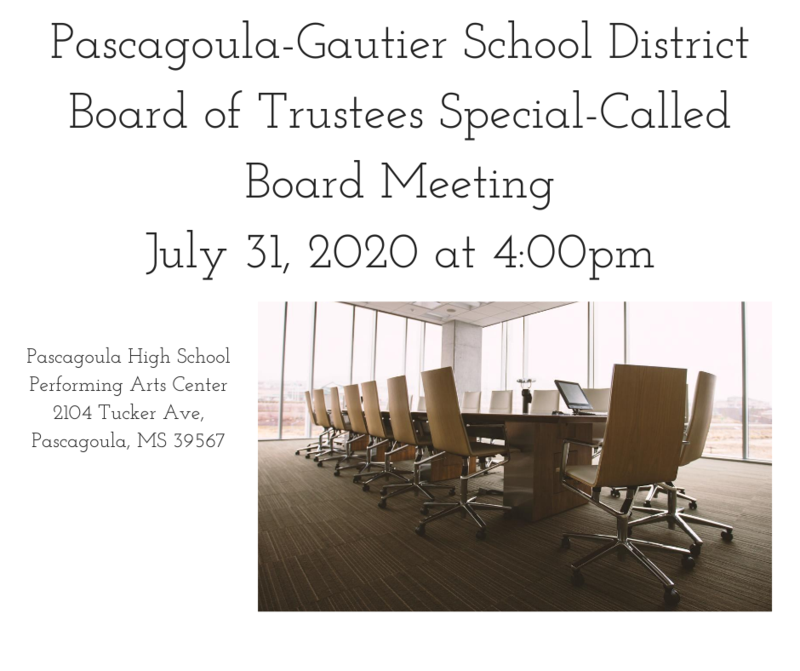 PGSD Board of Trustees Meeting