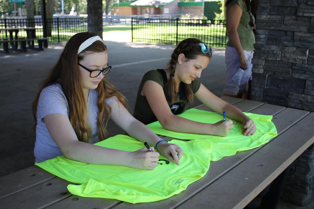 DDI's 2018 Employee Picnic volunteers