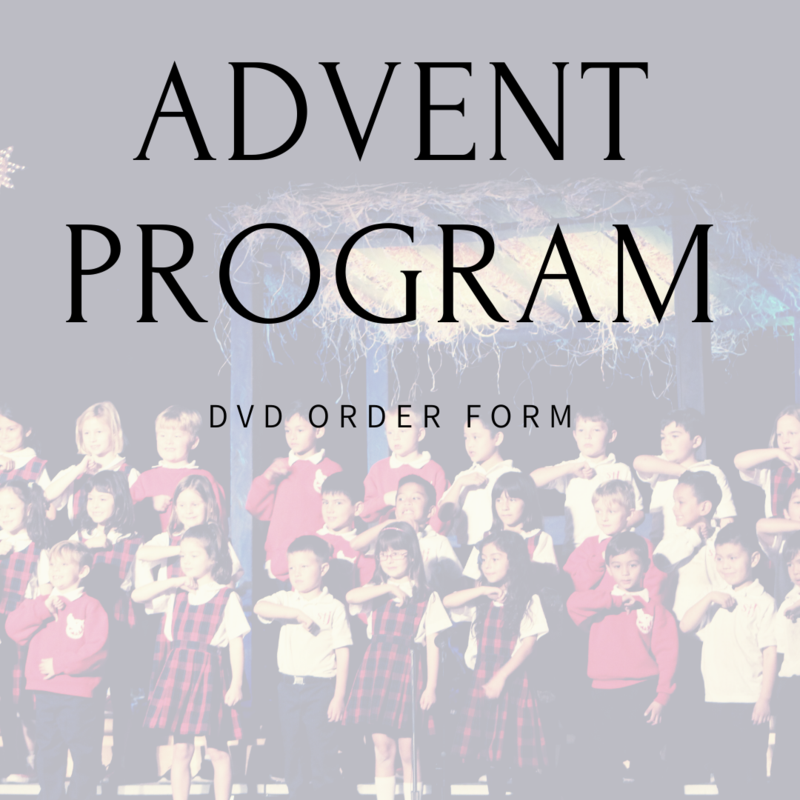 Advent DVD order form Featured Photo