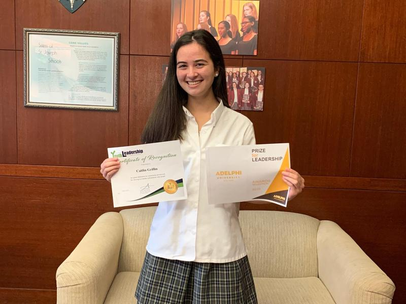Caitlin Griffin '20 Earns Double the Leadership Awards Featured Photo
