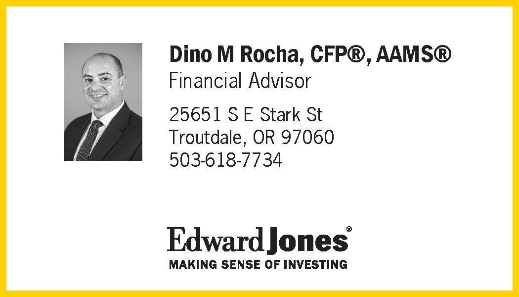 Dino Rocha Edward Jones logo