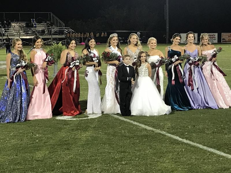 Clarkdale High's 2020 Homecoming Court