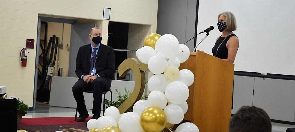Dr. Mitchell retirement celebration