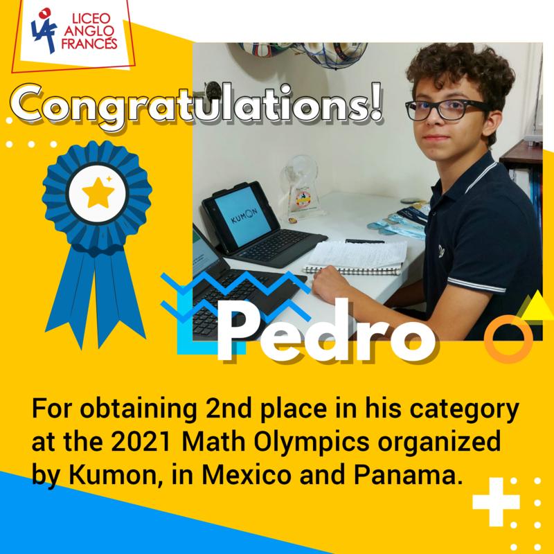 Congratulations to Pedro! 🎉 Featured Photo