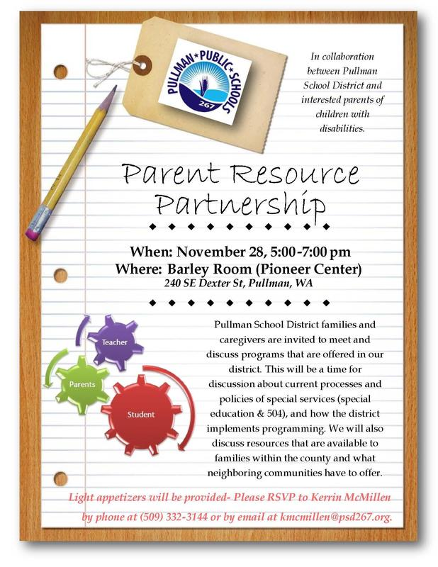 Parent Resource Partnership - November 28th Thumbnail Image