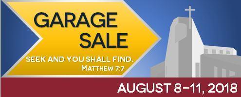 All Saints Garage Sale Featured Photo