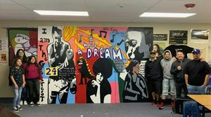 Black History Mural 2020