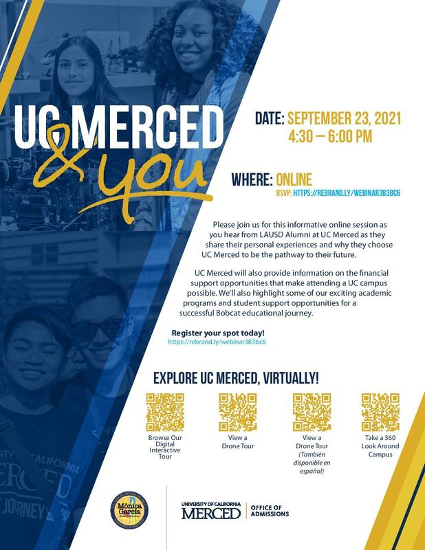 UC Merced & You Featured Photo