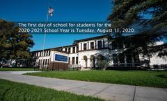 First day of school, August 11
