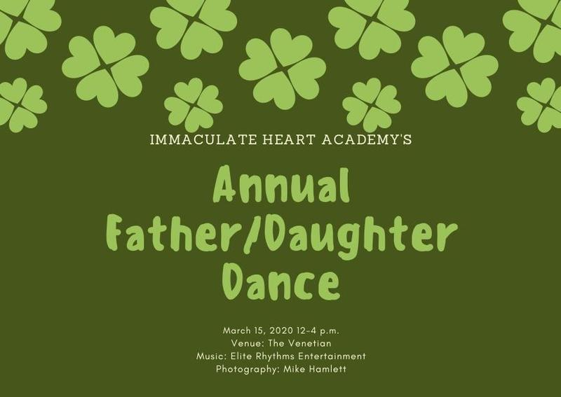 IHA Father/Daughter Dance - March 15 Thumbnail Image