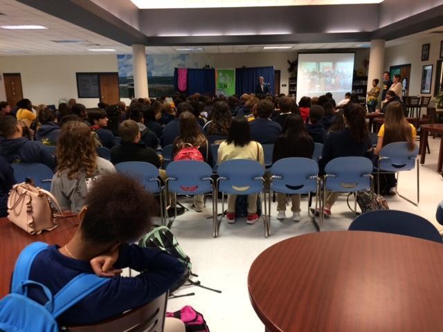 Black History Program audience
