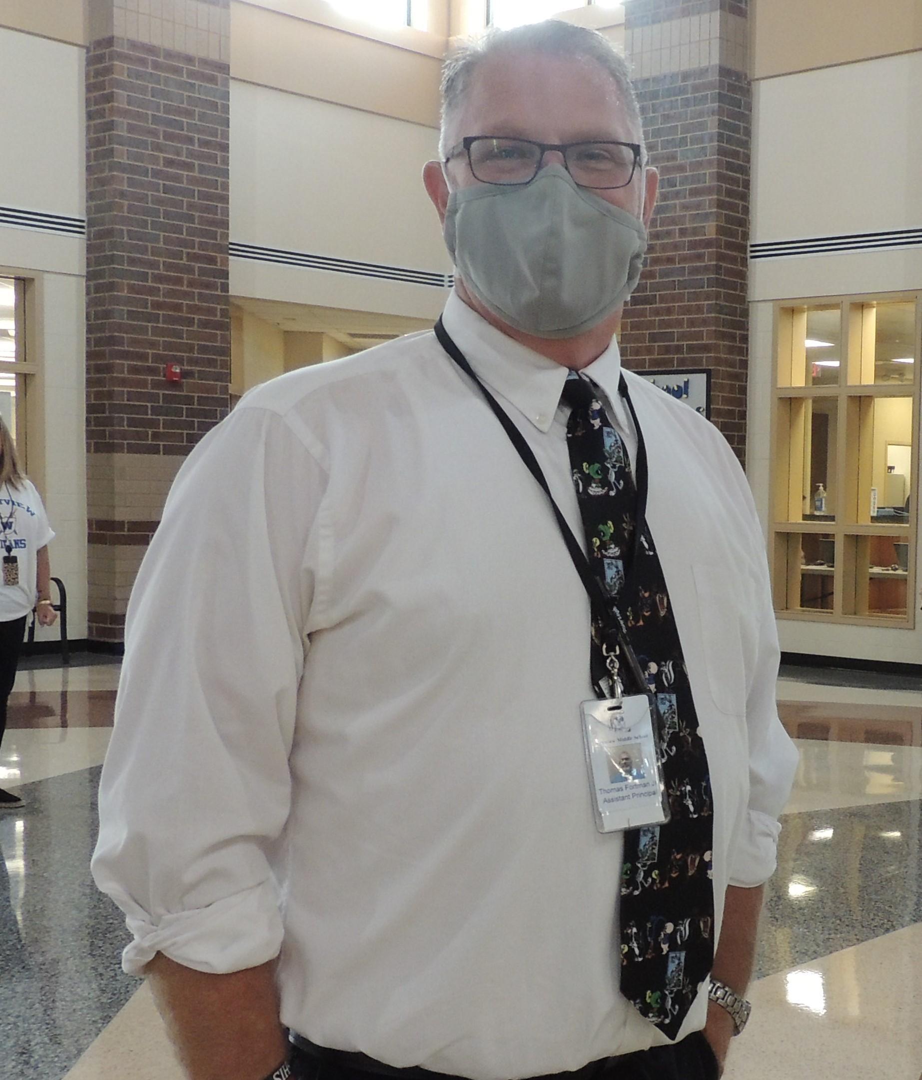 Thomas Fortman - Assistant Principal