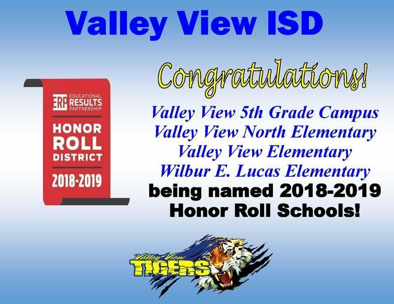 Valley View North was named Honor Roll School based on Academic Performance Thumbnail Image