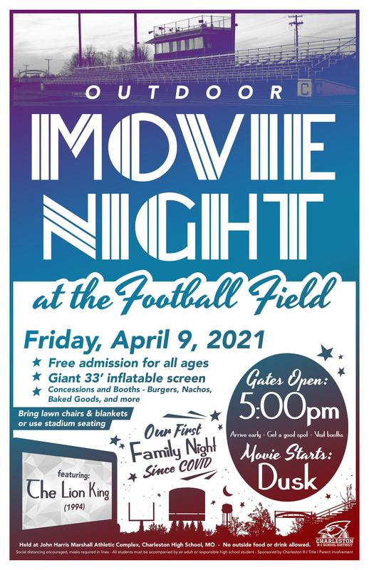 Outdoor Movie Night 2021 Poster