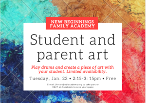 New music and art event launched for students and their parents