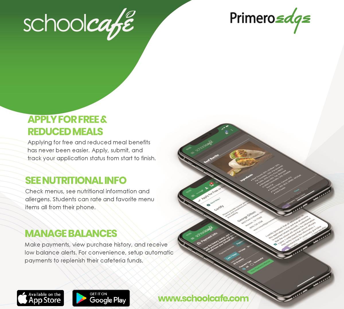 SchoolCafe Flyer