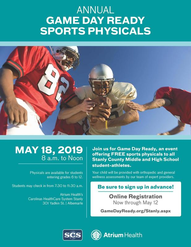 FREE Sports Physicals Featured Photo