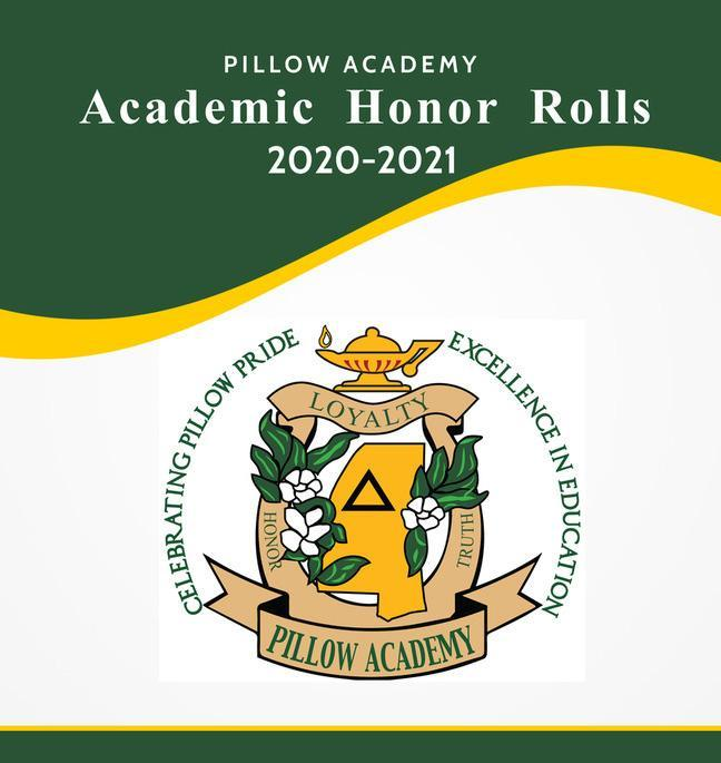 2020-2021 Honor Roll - Grades 1 through 12 Featured Photo