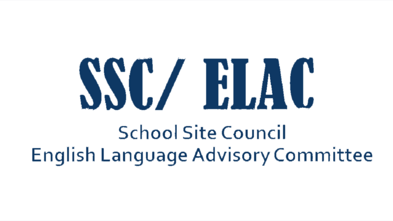 SSC and ELAC Agenda - May 4th, 2021 Featured Photo