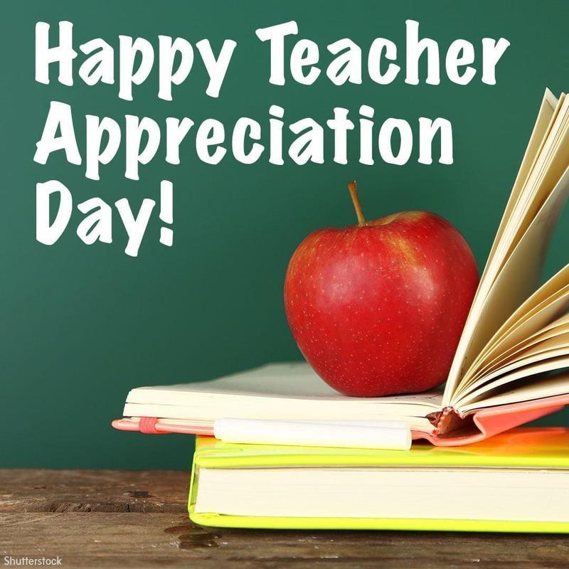 HAPPY TEACHER APPRECIATION DAY!! Featured Photo
