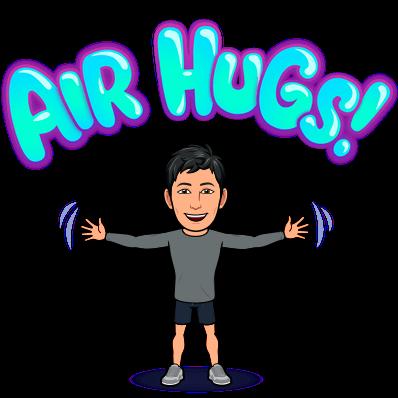 Air hugs bitmoji