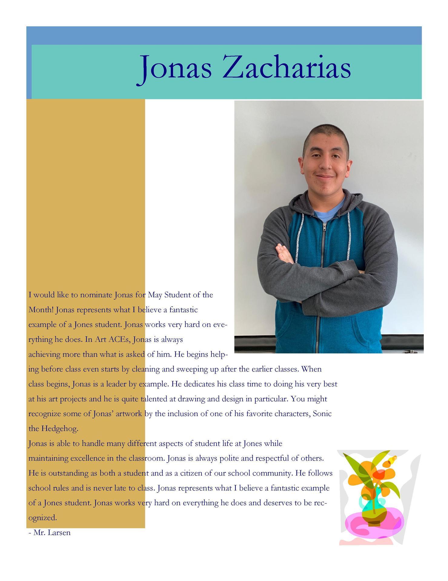 Image of Jonas Zacharias