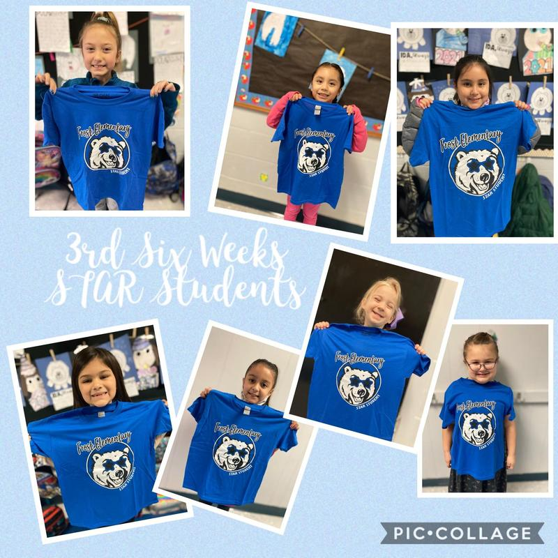 3rd Six Weeks STAR Students PK - 2nd Grade Featured Photo