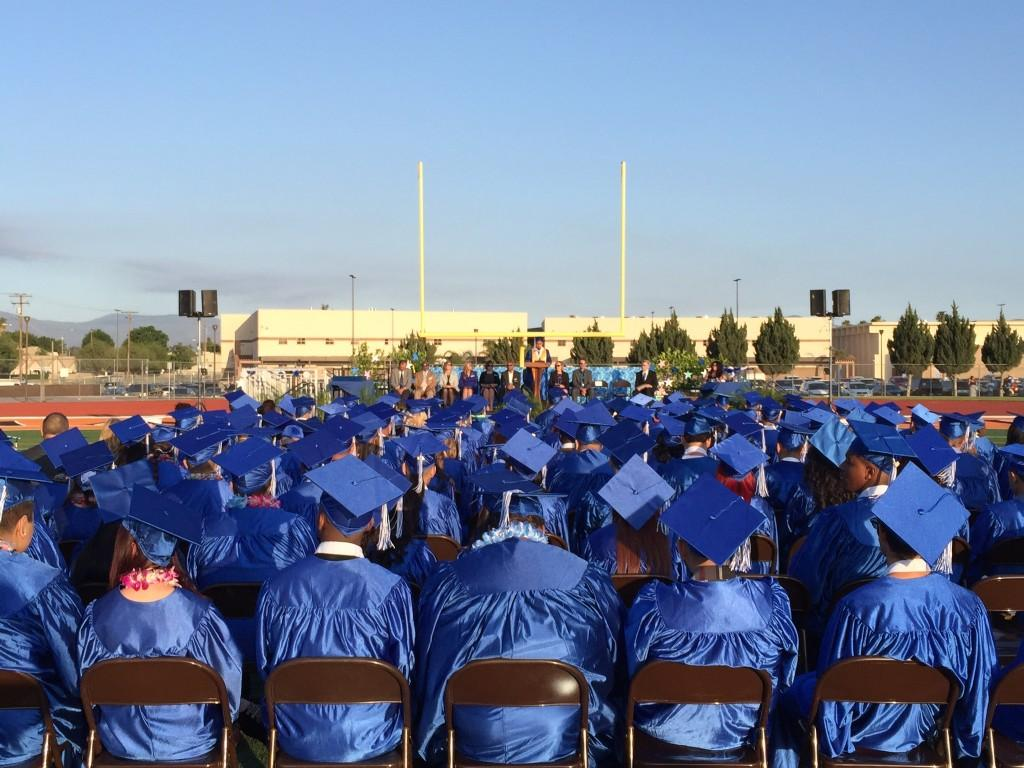 Mountain View High Schools Graduation