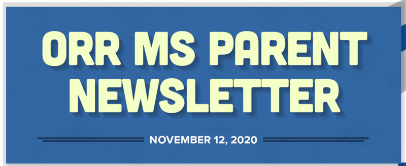 Parent Newsletter 11/12/2020 Featured Photo