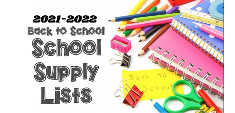 2021-2022 Supply Lists Thumbnail Image