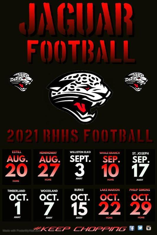 2021 Jaguar Football Schedule