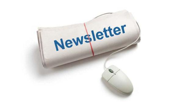 newspaper with mouse