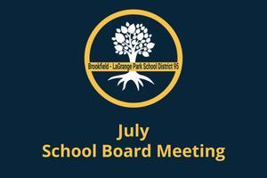 July School Board Meeting