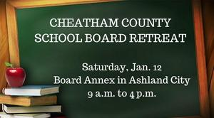 School Board retreat is Jan. 12