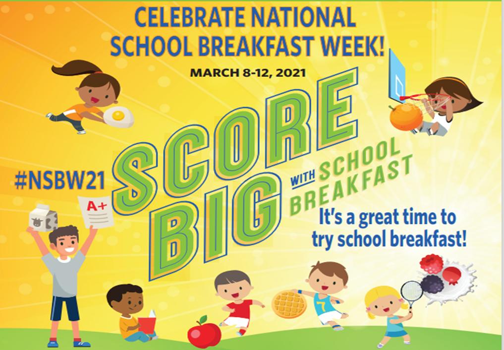 National School Breakfast Week 2021 Flyer