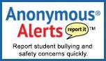 Anonymous Alerts reporting tool