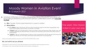 MAFB Women in Aviation Event