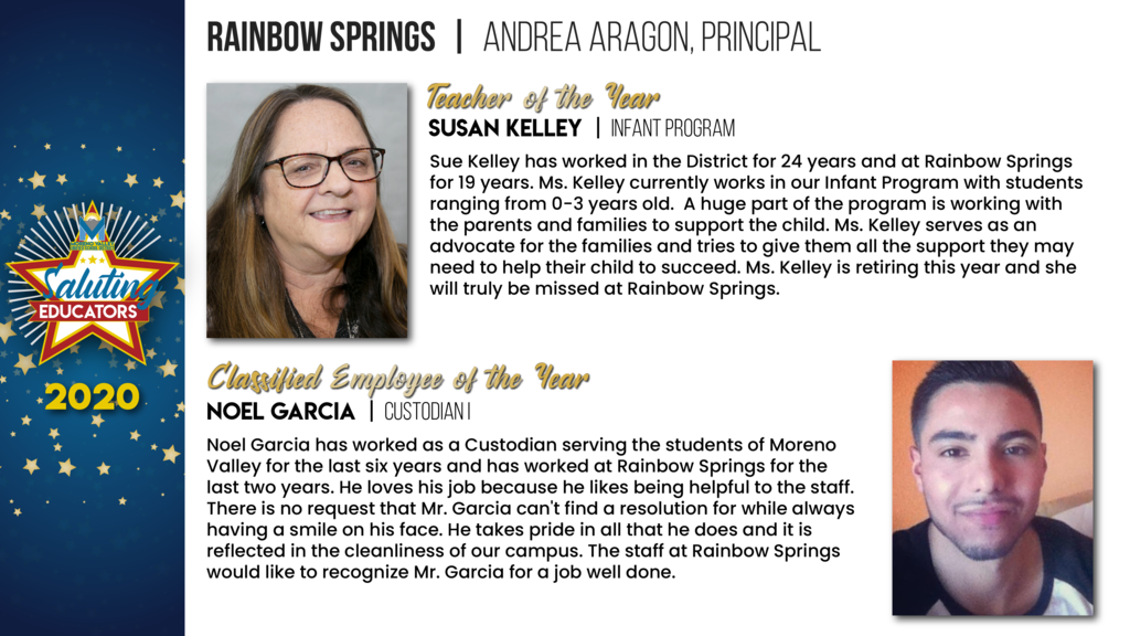 Rainbow Springs Employees of the Year