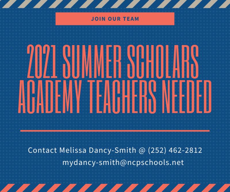 SSA Teachers Needed