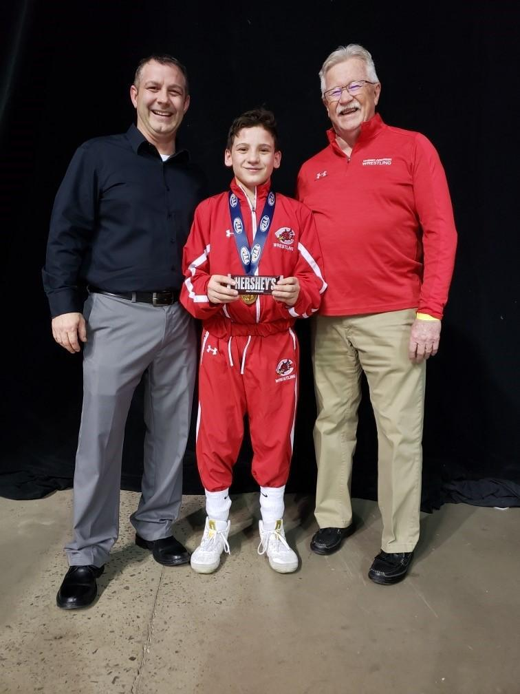 Jaxon Matthews placed 5th at the Southwest Regional Wrestling Tournament 2/22/20 and qualified for the PIAA state tournament March 5 - 7th 2020 in Hershey.